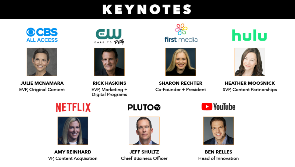 See The Keynotes At Streaming Plus