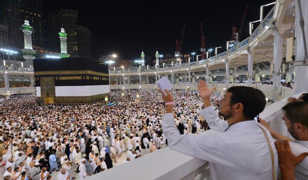 Das Königreich wird insgesamt etwa zwei Millionen internationale Pilger willkommen heißen