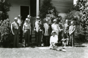 Group image of visiting legislators 1946.