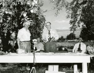 1951 field day presenters.