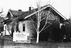Original Tree Fruit Experiment Station building.
