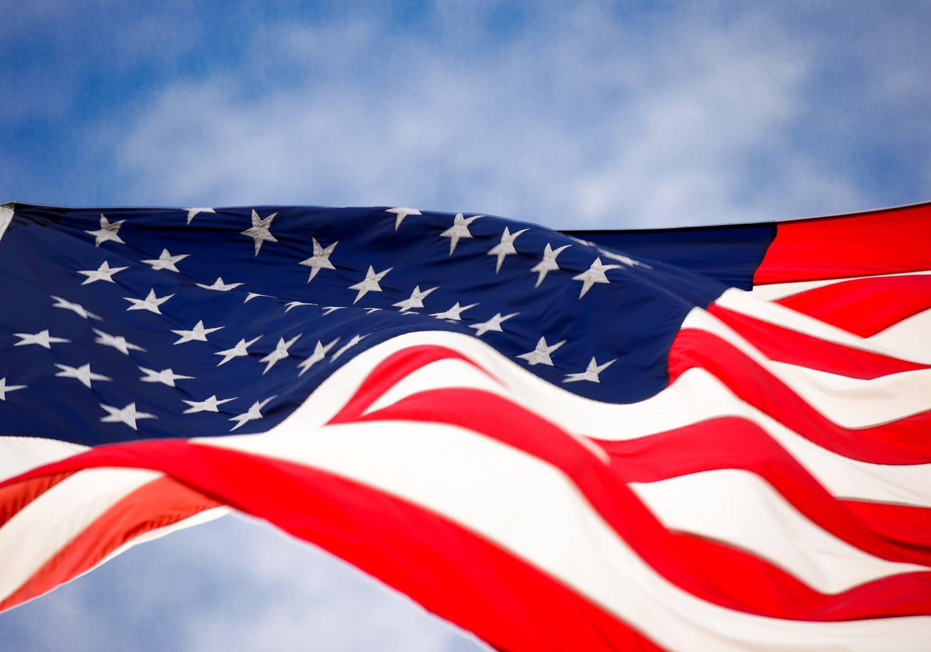 Picture of the American Flag.