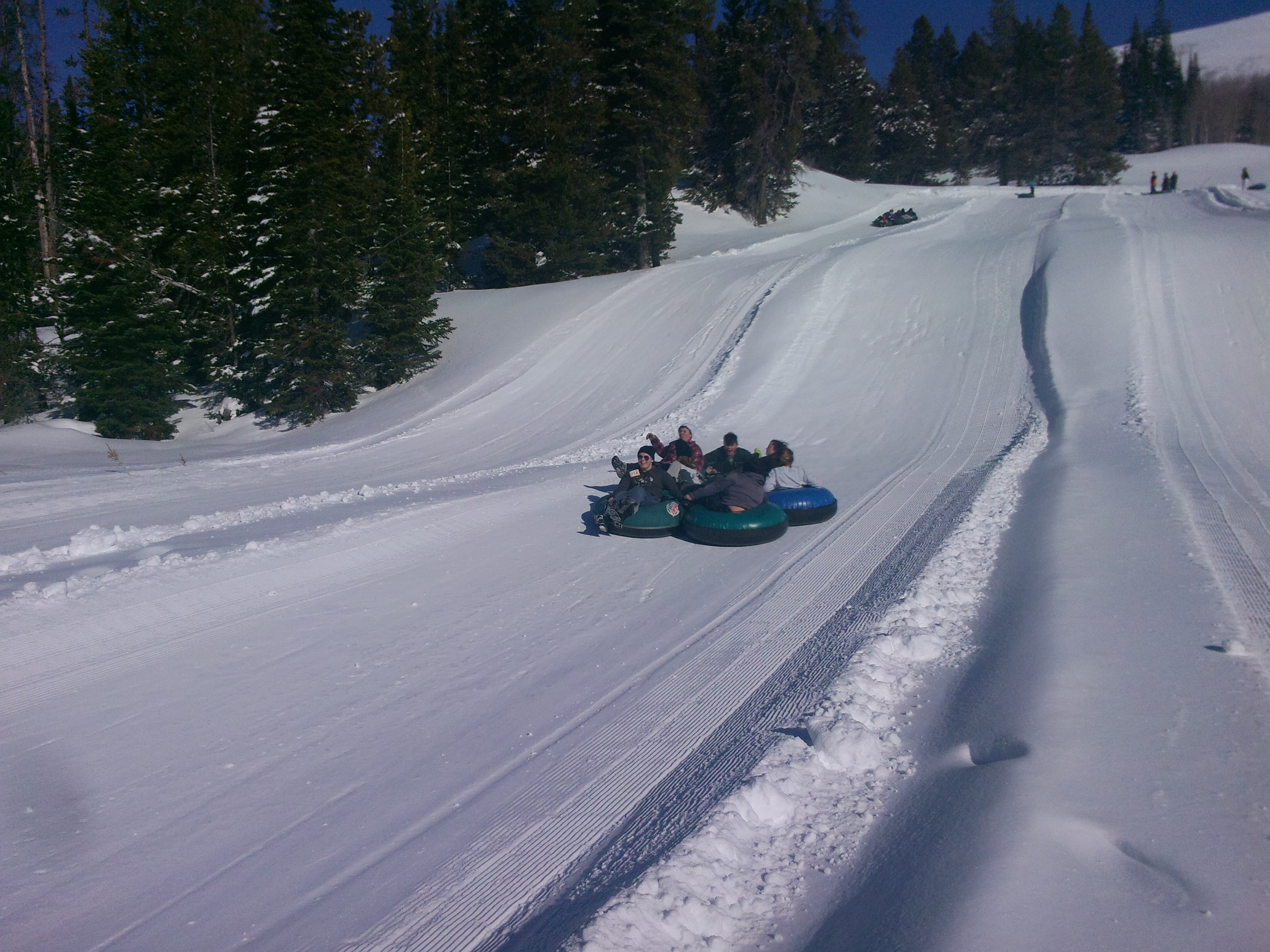 Tubing the Hill
