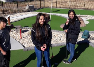 Incentive Event Mini Golfing