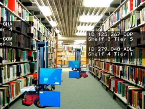 Robotic Librarians Hit The Books
