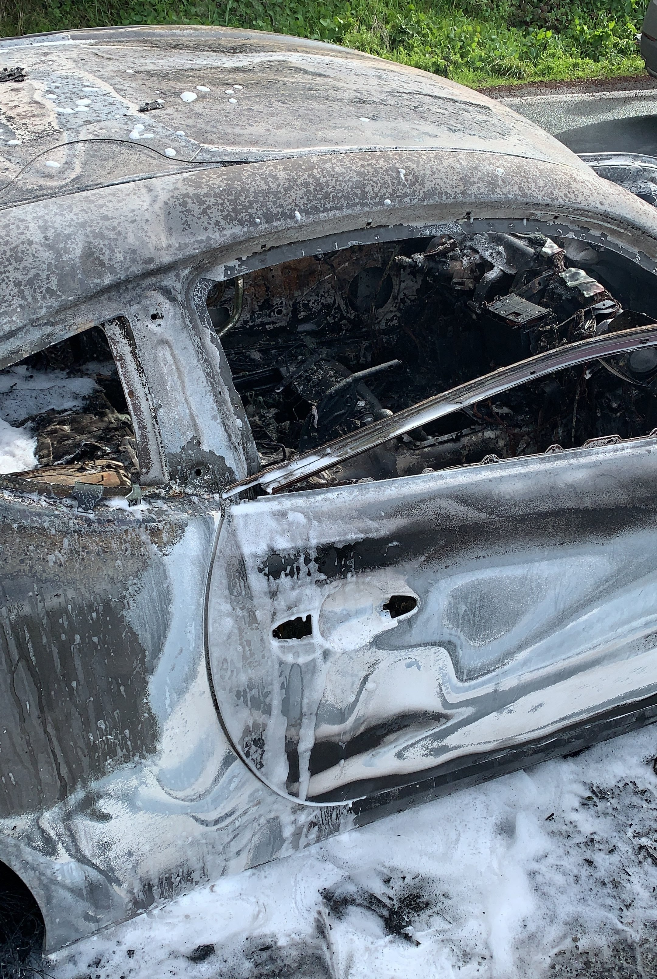 This Scion FR-S Went Up in Flames After Doing the Valve Spring