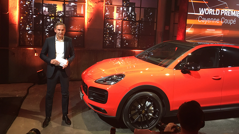 Porsche Cayenne Coupe Revealed