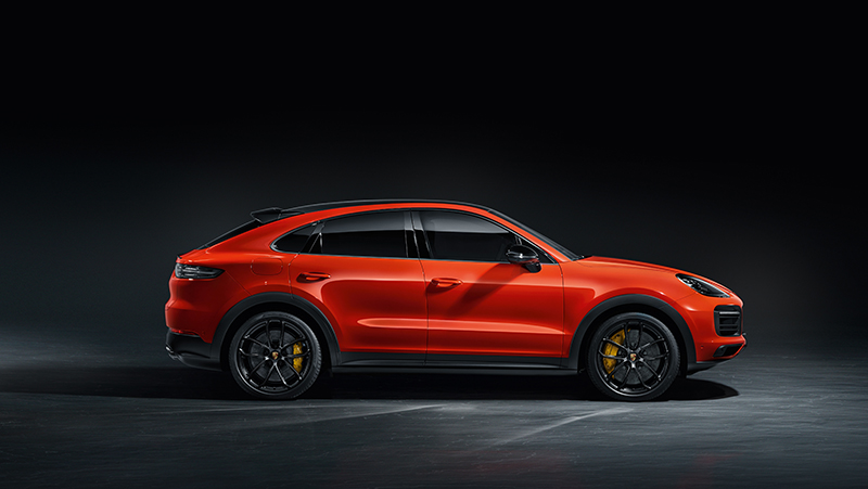 Porsche Cayenne Coupe Breaks Cover As Sleek BMW X6 Rival, See It In 60 Photos, Videos