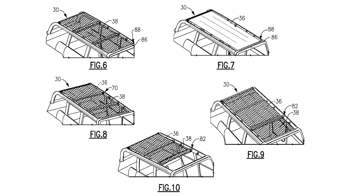 Patent Drawings Suggest 2020 Ford Bronco Could Come With Convertible Cloth Roof - The Drive