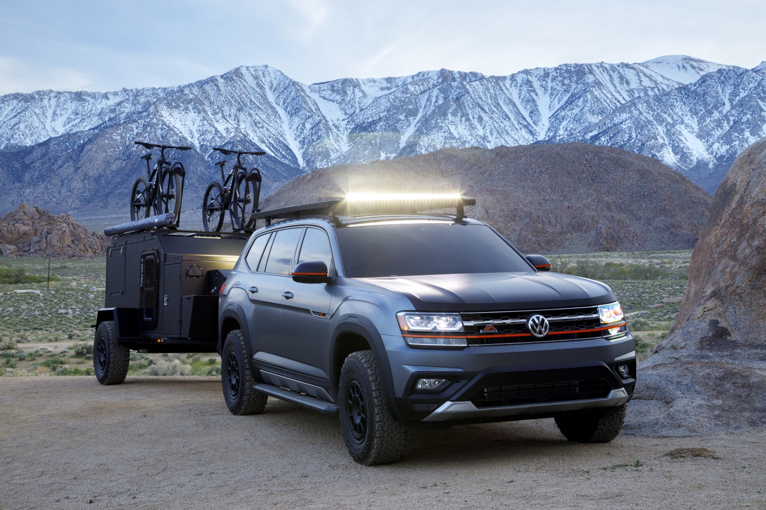 Volkswagen Atlas Basecamp Concept Is A Quasi Rugged