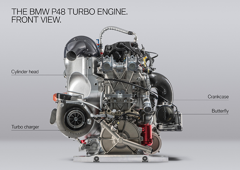 BMW's New 600-HP 4-Cylinder Engine Shows How Far Engineering