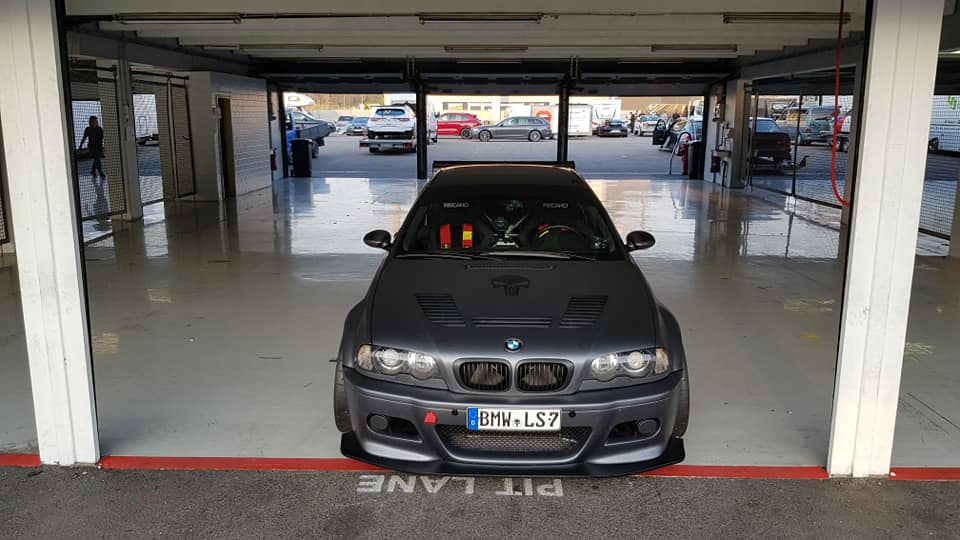 Drool at the Sound of an LS7-Swapped BMW E46 M3 Lapping Germany's