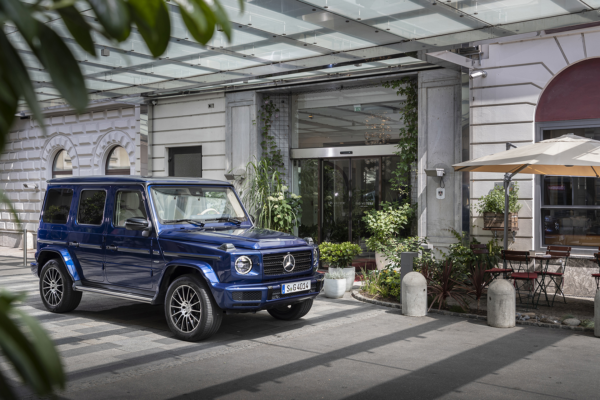 Special Edition Mercedes-Benz G-Class Models Celebrate 40
