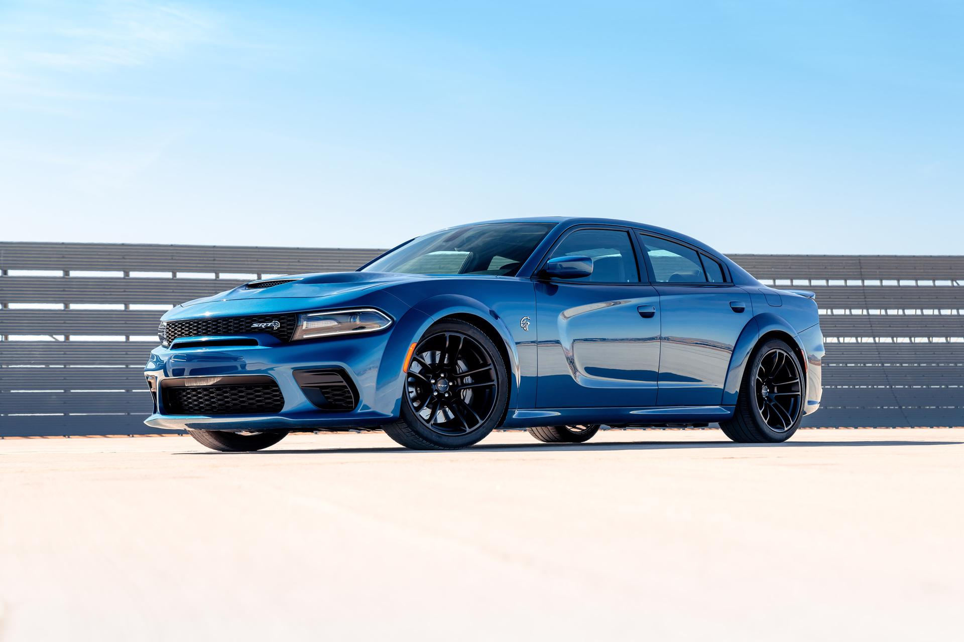 Dodge Charger SRT Hellcat Widebody concept prepared for Pikes Peak