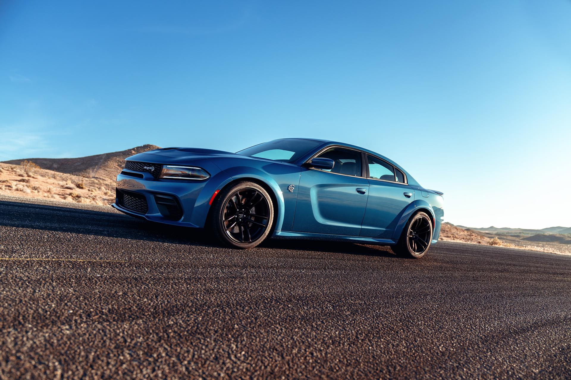 Dodge's Charger SRT Hellcat Widebody: A Fast And Powerful Four-Door Sedan