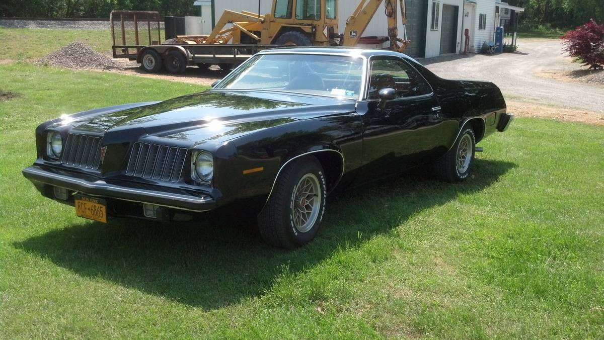This 1974 Pontiac Grand Camino Is the Chevy El Camino's Cousin That