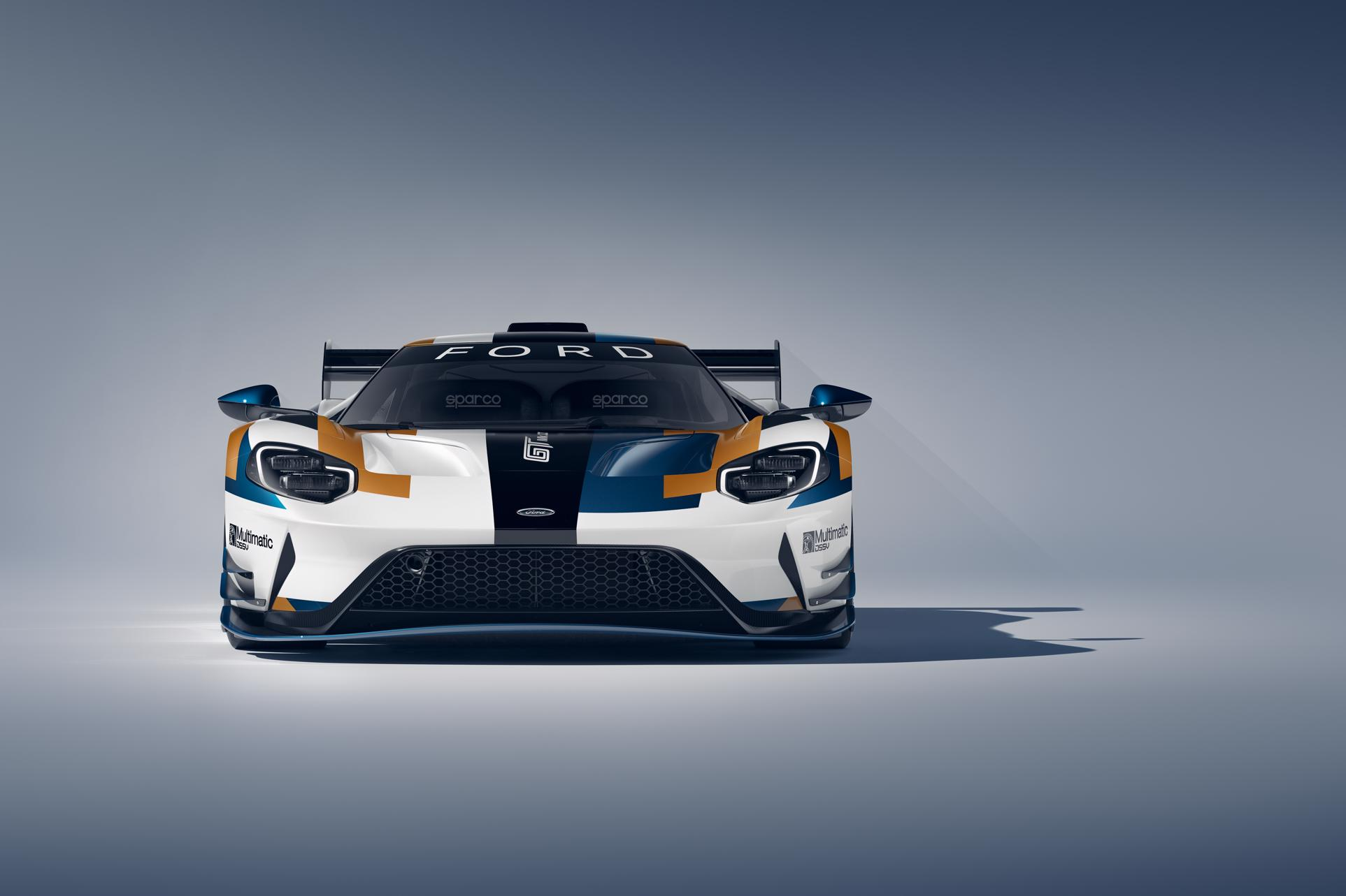 This is the track-only, £1m Ford GT Mk II