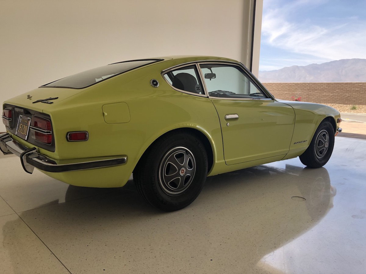 Factory-Commissioned 1972 Datsun 240Z Restoration Sells for Over