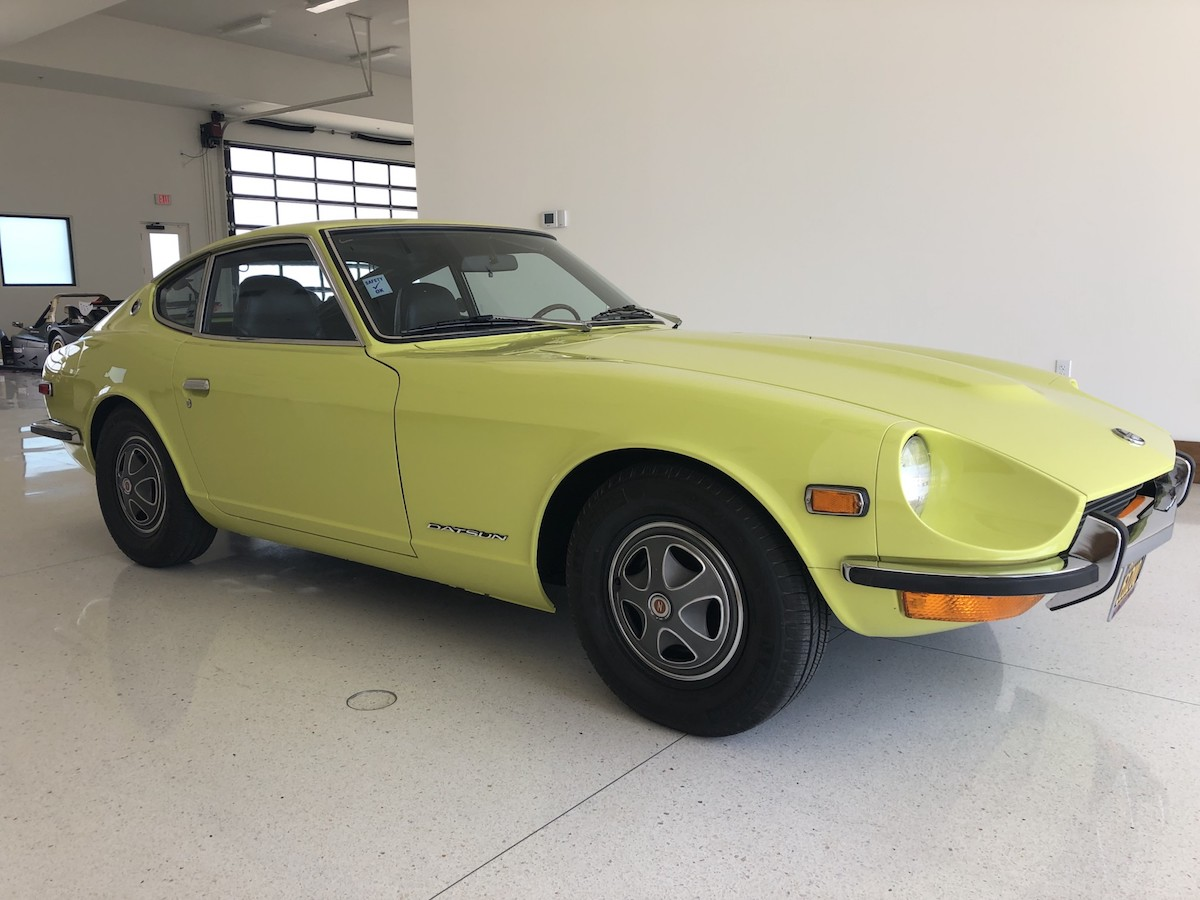 Factory Commissioned 1972 Datsun 240z Restoration Sells For Over