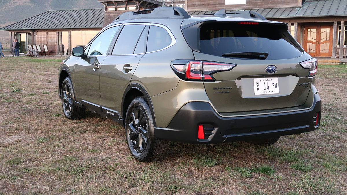 2020 Subaru Outback Review Tried And True But New Where It