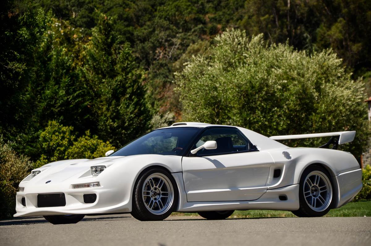 Supercharged 1991 Acura NSX With Period-Correct Widebody Is Peak JDM