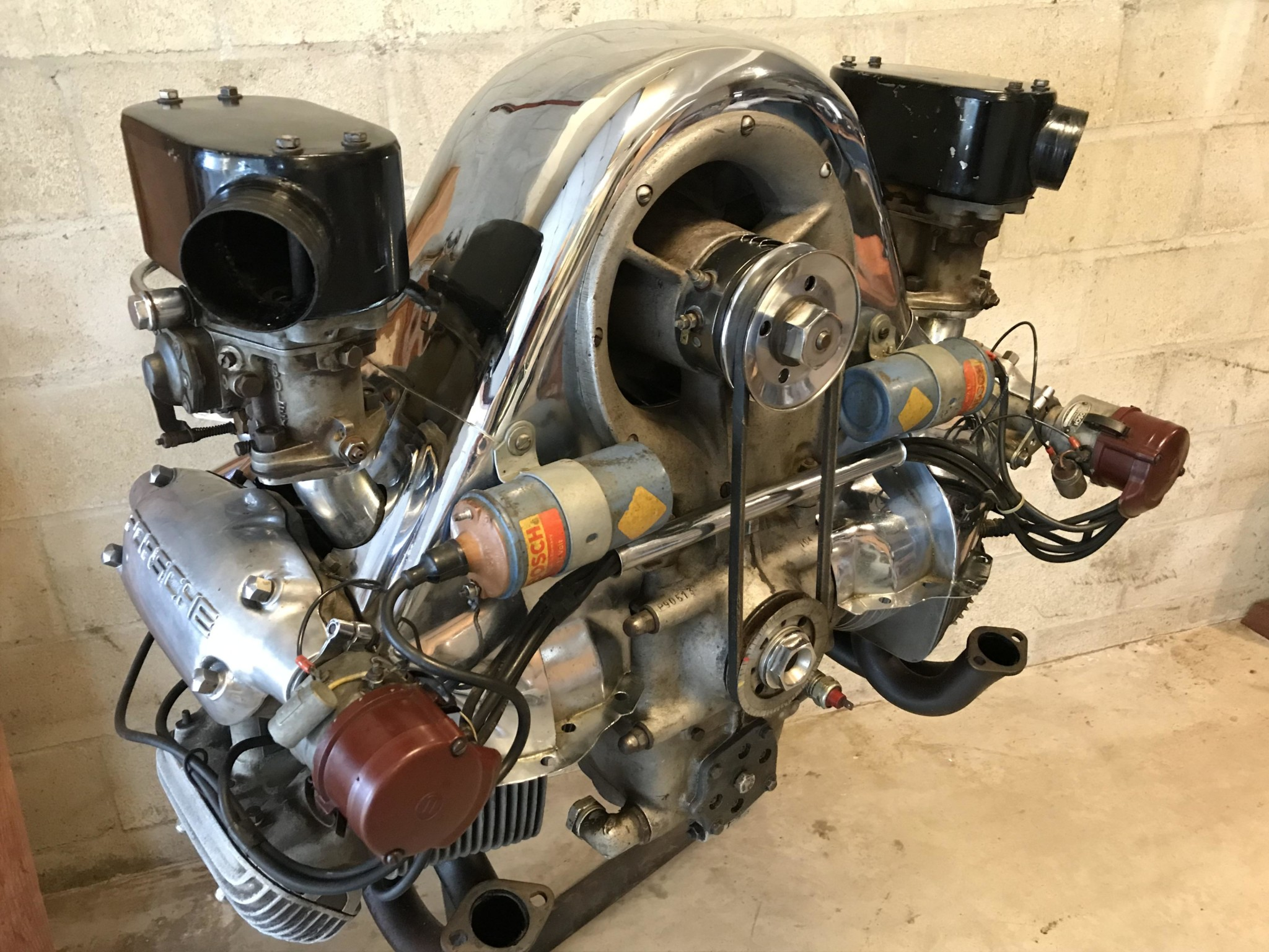This 64,Year,Old Aircooled Porsche Engine Was Bid to