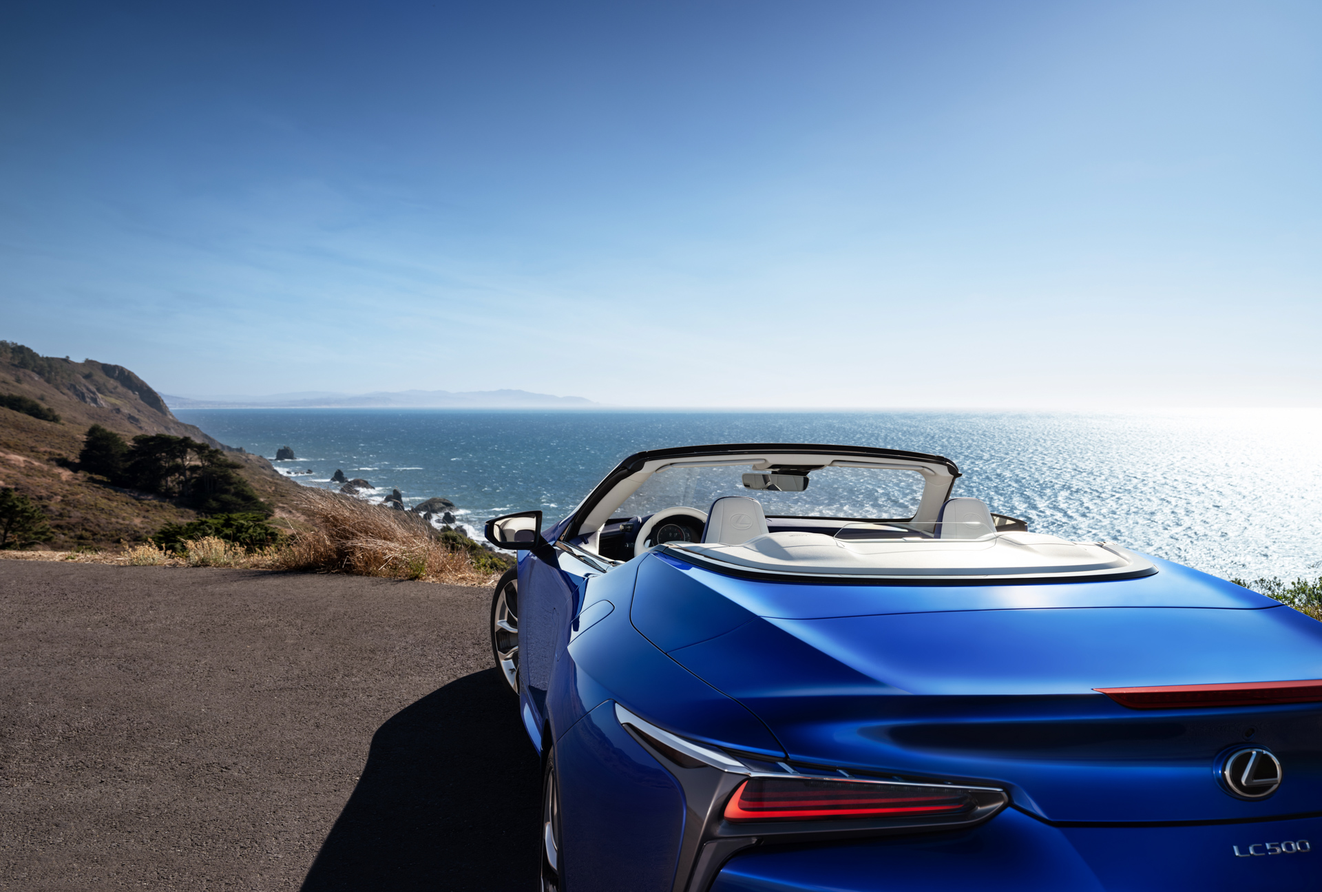 2021 lexus lc 500 convertible  a topless  v-8-powered feast for the senses