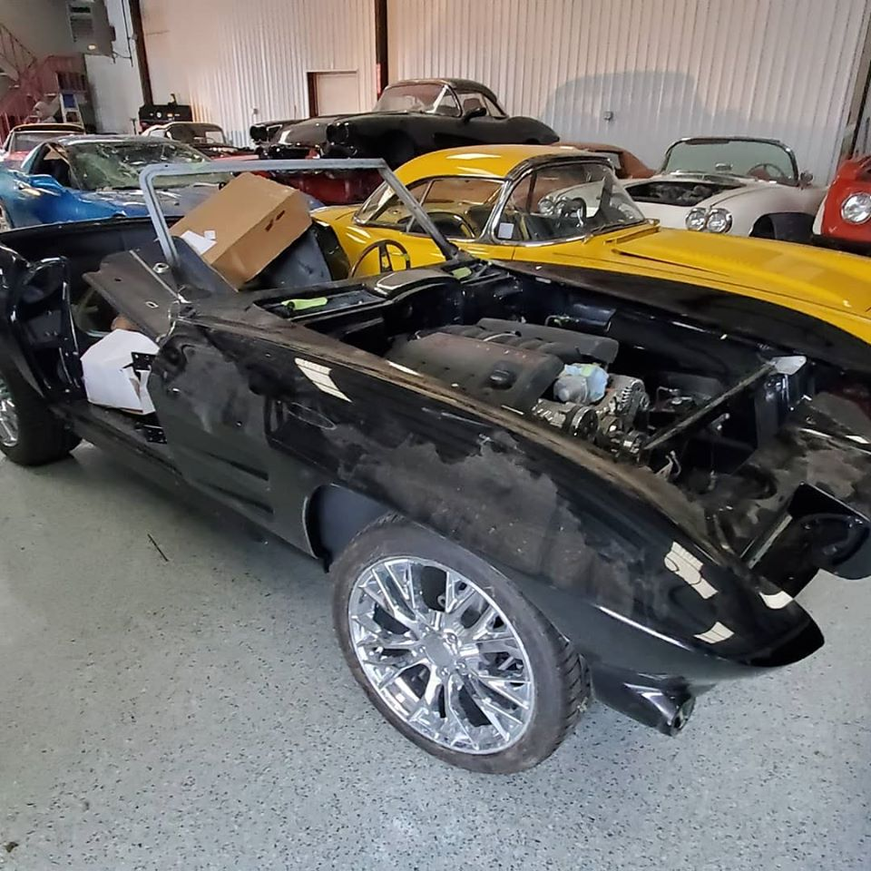 Corvette Shop Salvages Nearly $1M Worth Of Classic Cars