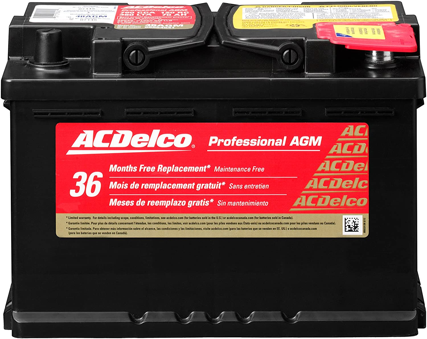 ACDelco Professional BCI Group 48 Battery