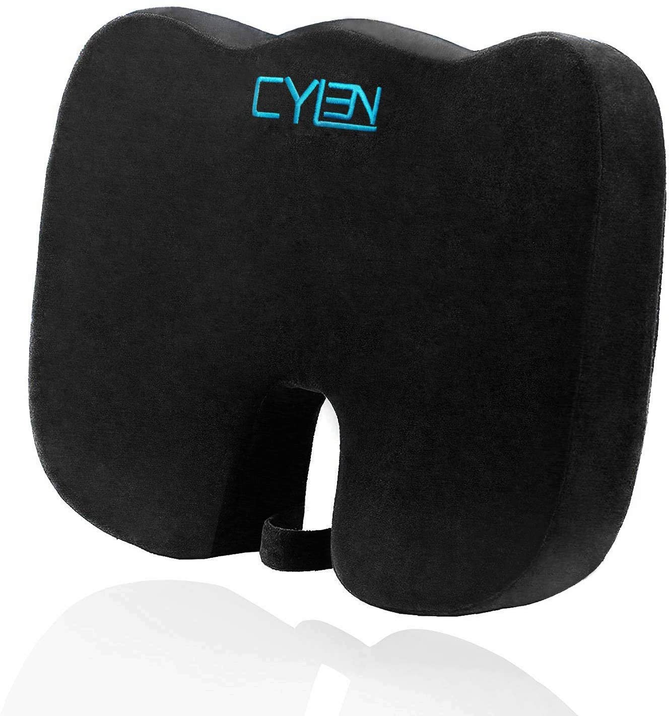 CYLEN Memory Foam Bamboo Charcoal Infused Seat Cushion