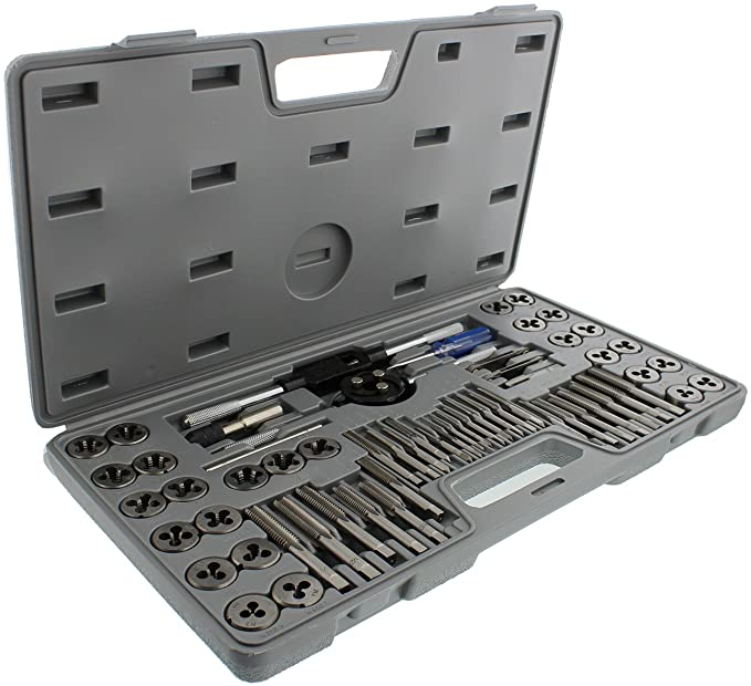ABN 60-Piece Metric and SAE Standard Tap and Die Rethread Set