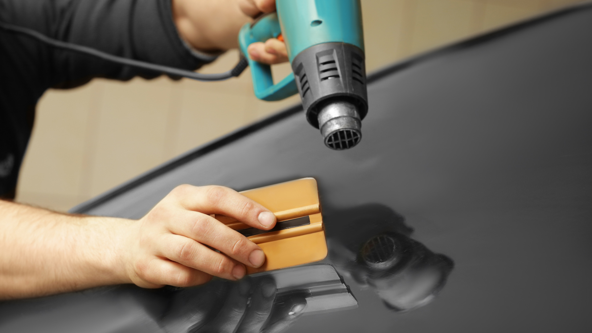 The pros can have your windows tinted right in no time.