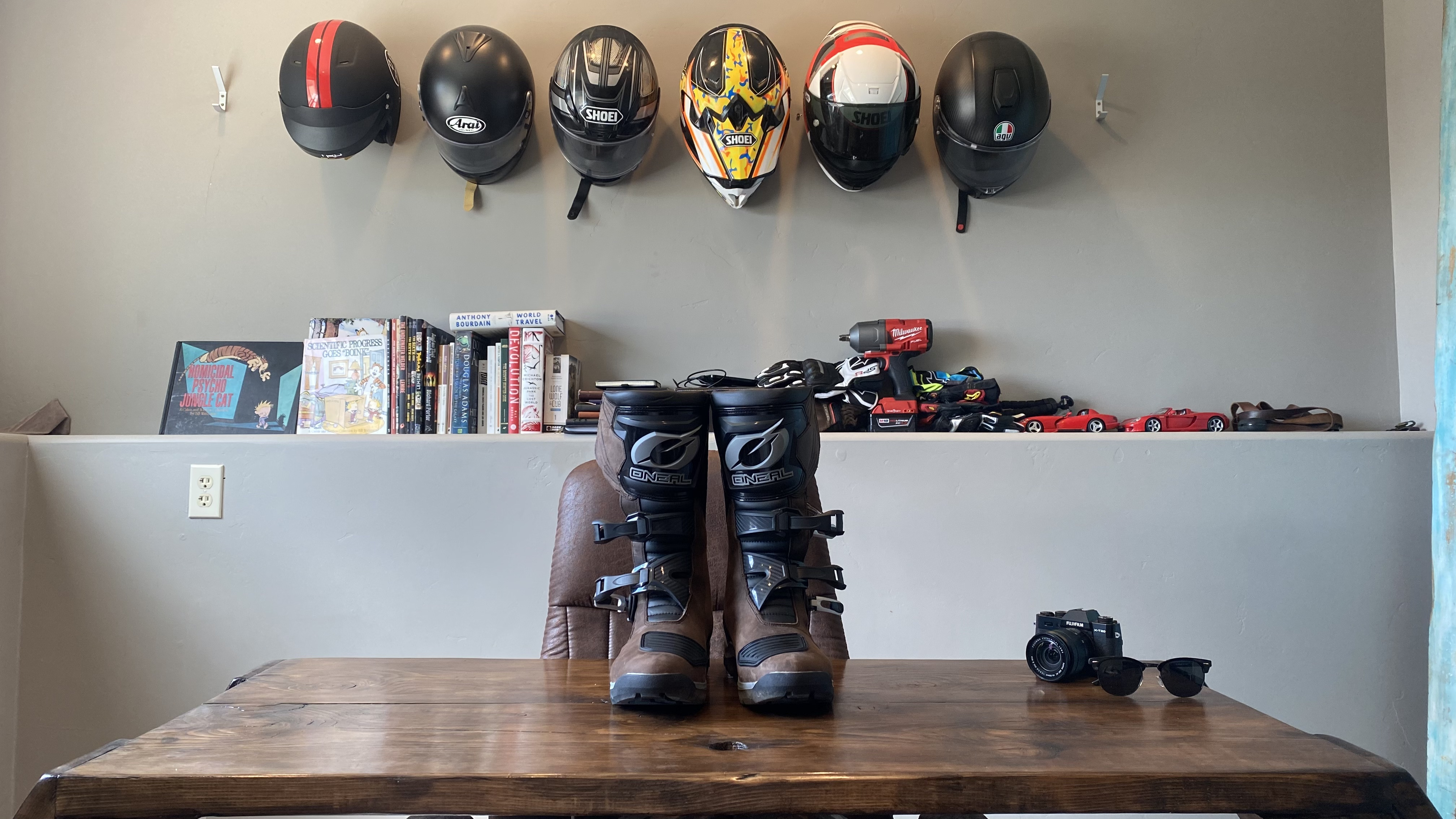 O'Neal's ADV boots.