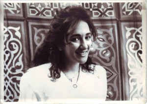 Heidi in 1993 before our Arabic wedding!