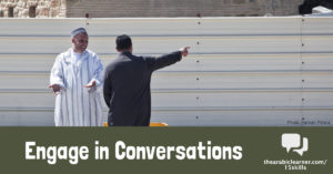 Arabic conversation: overcoming barriers to interact meaningfully