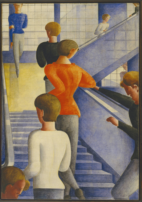 The Bauhaustreppe