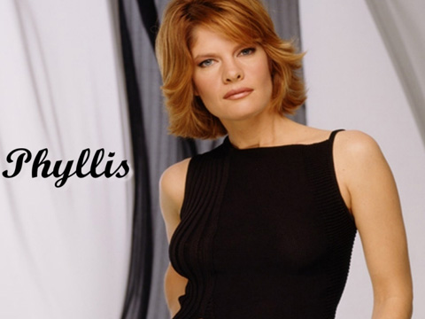 Stafford as the no-nonsense Phyllis Summers.