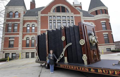 Camera in Monroe,Wisconsin, where hauler was built.