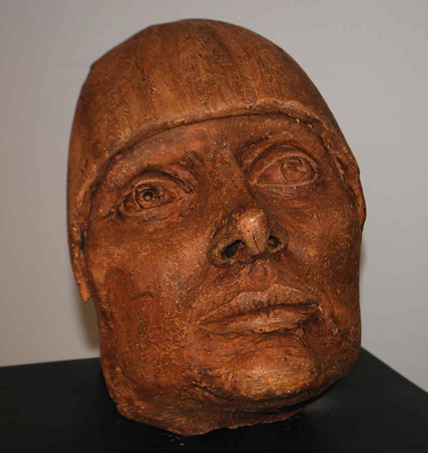 Agnes Varda—fragment from a broken sculpture.