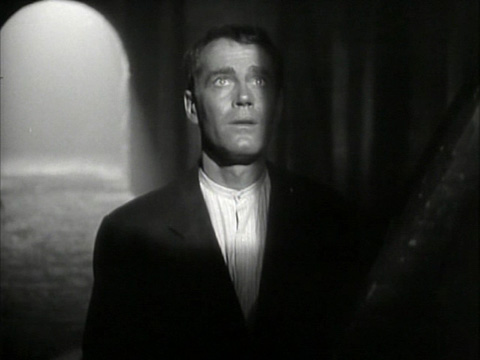 "Henry Fonda in ""The Fugitive."""