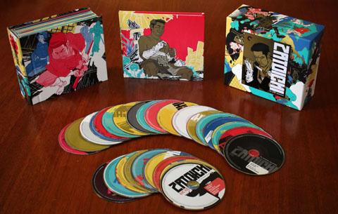 Criterion's colorful box set.