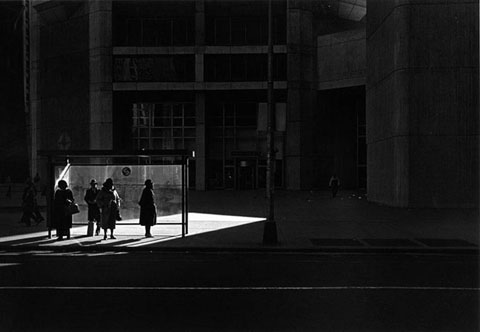 Metzker, City Whispers, Philadelphia,1981.