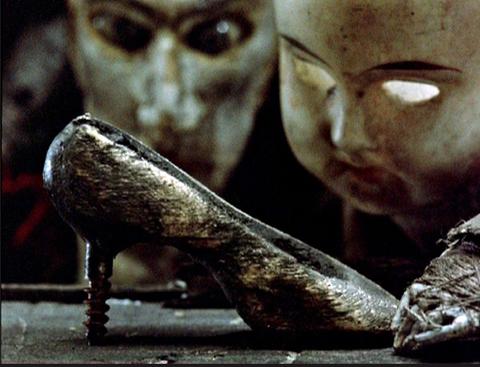 "Screw shoe from ""Street of Crocodiles."""