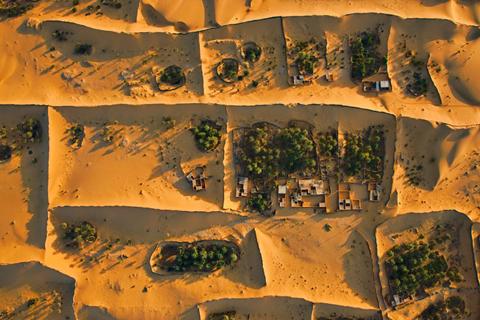 Algerian Sahara near Timimoun.