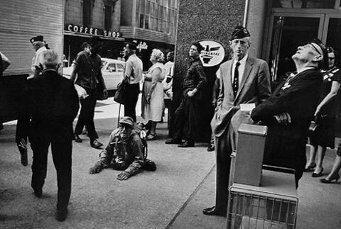 """Winogrand """"American Legion Convention, Dallas Texas 1964"""""""