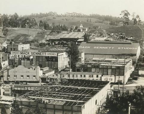 Sennett Studios circa 1915, Edendale, (present day Echo Park).