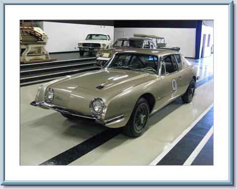 The record-breaking Studebaker Avanti, built in 1963.