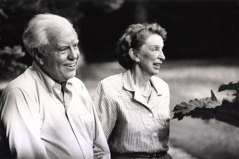 Carter and Helen in 1987