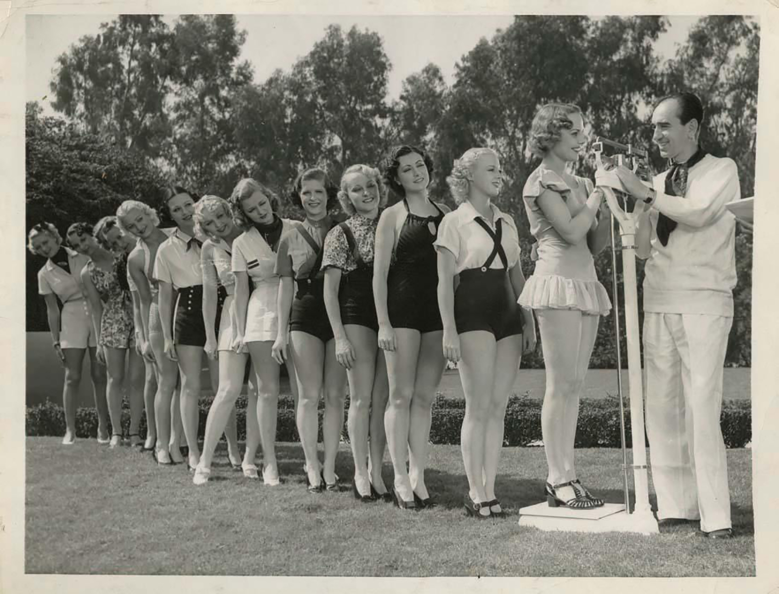 Busby Berkeley and his showgirls.