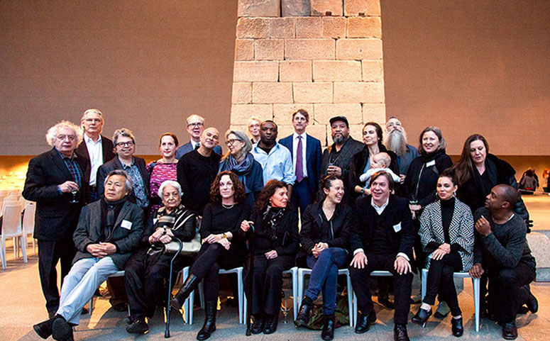 Artists and staff involved in The Artist Project at the Met. (Credit: Metropolitan Museum of Art)